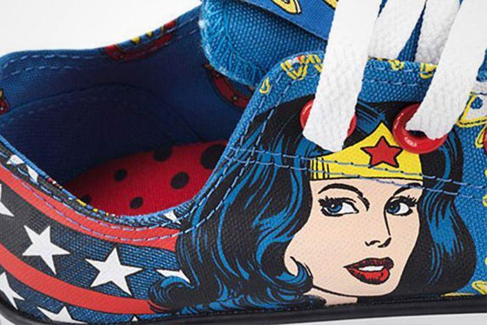 Dc Comics X Converse Chuck Taylor All Star ' Wonder Woman' 2012 Present6