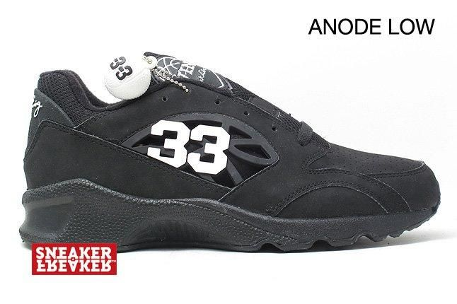 Ewing Sneakers Anode Low Black 1