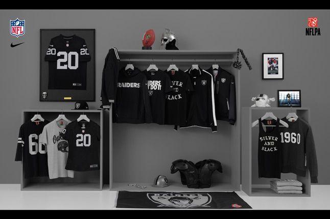 Nike Nfl Fanwear Oak Raiders 2012 1