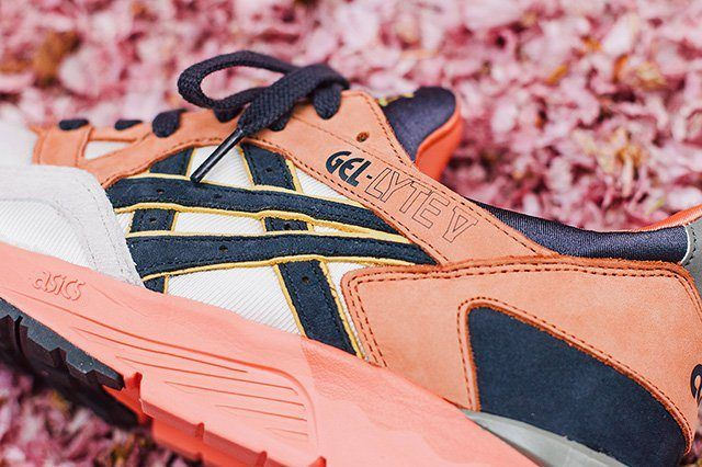 Ubiq X Asics Gel Lyte V Midnight Bloom