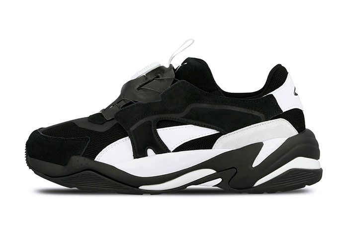 Puma Thunder Disc Black Left