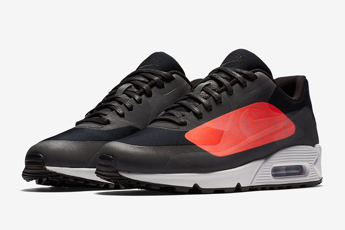 Nike Air Max 90 Big Logo Infrared Black Sneaker Freaker 5