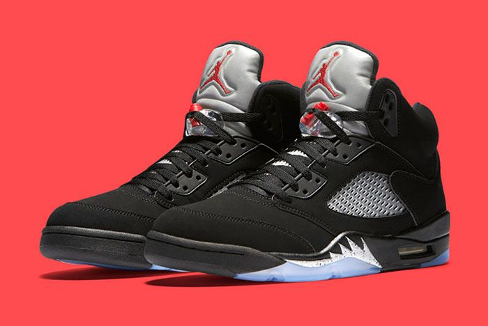 Air Jordan 5 Retro Blackmetallic 1