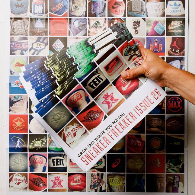 Sneaker Freaker Issue 26 Gram Jam Posters 1