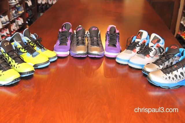 Chris Paul Air Jordan Vault Tour 4