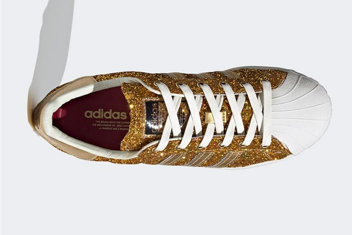 Adidas Superstar Gold Metallic Fw8168 Top