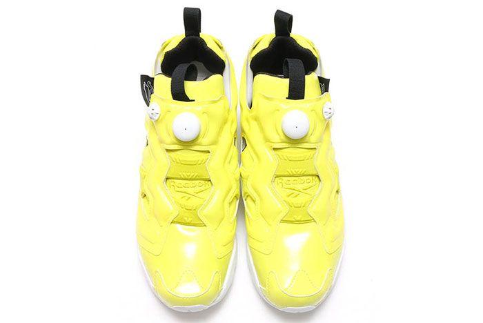 Reebok Insta Pump Fury Gloss Yellow 2