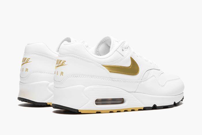 Nike Air Max 90 1 White Gold 3