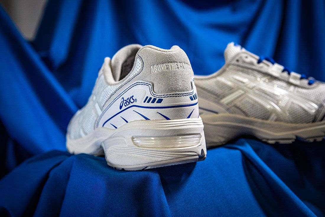 Above The Clouds Asics Gel 1090 Blue Cloth Heels