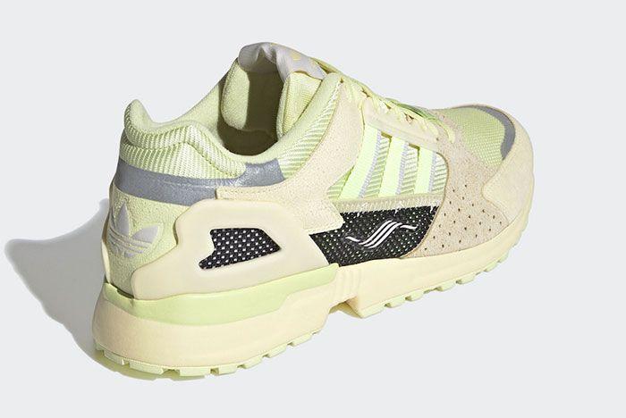 Adidas Zx 10000C Yellow Tint Heel