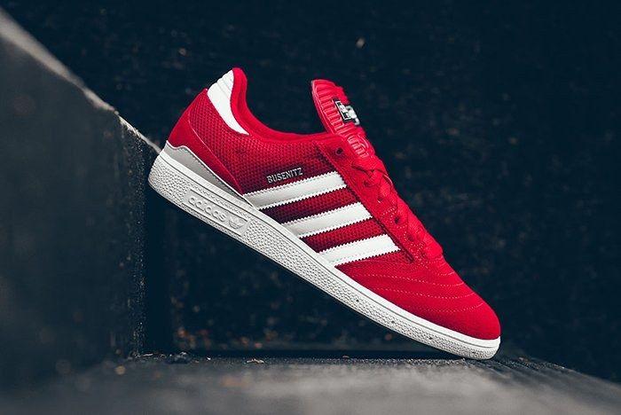 Adidas Busenitz Red Mesh 3