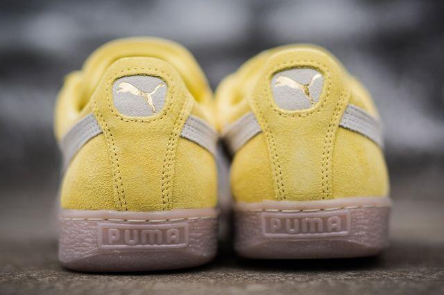 Puma Suede Yellow Grey Gum 2