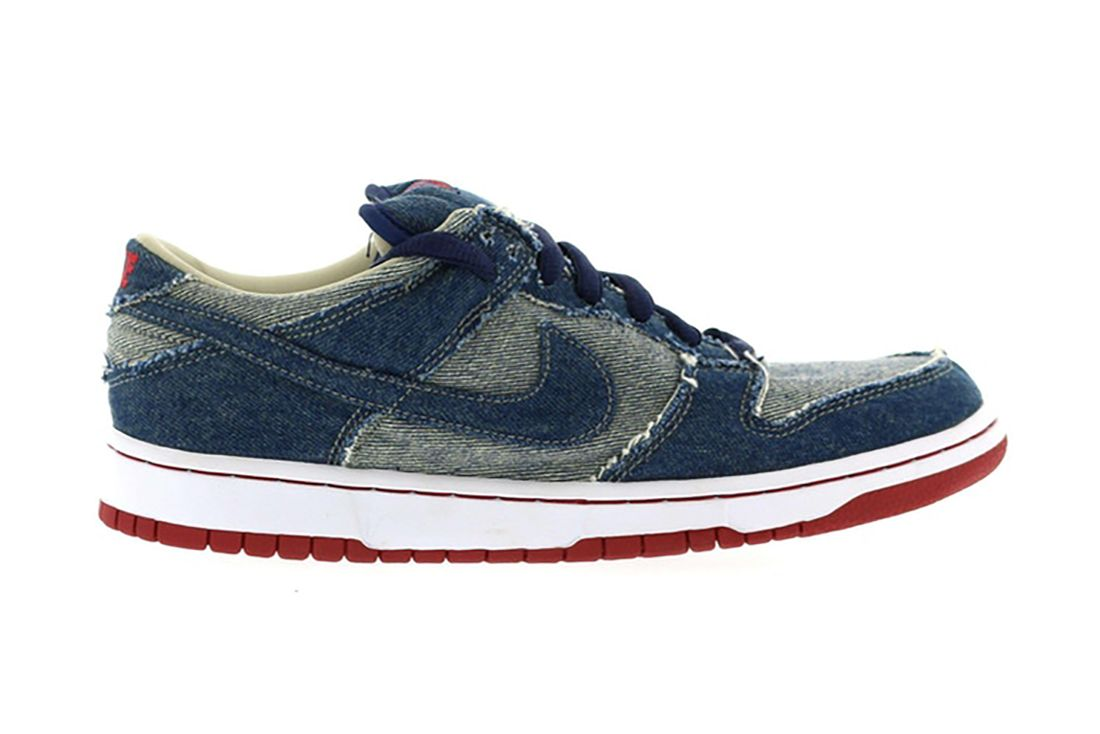 Reese Forbes Denim Nike Sb Dunk Low 304292 441 Lateral