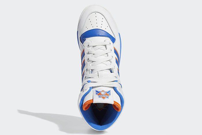 Adidas Rivalry Hi Knicks White Blue Orange F34139 5