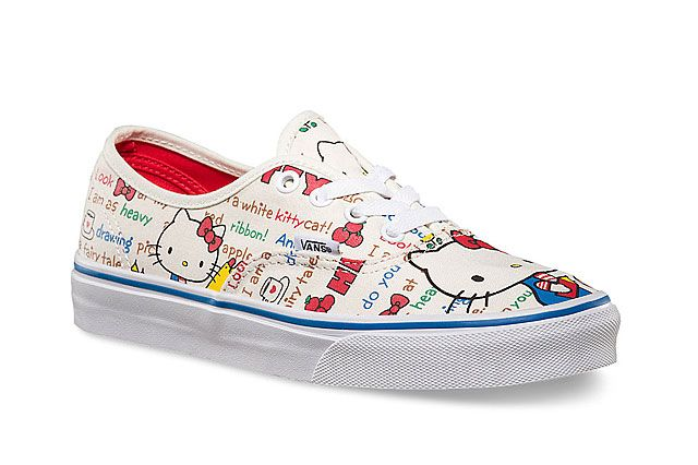 Hello Kitty X Vans Summer 2014 Collection Authentic 2