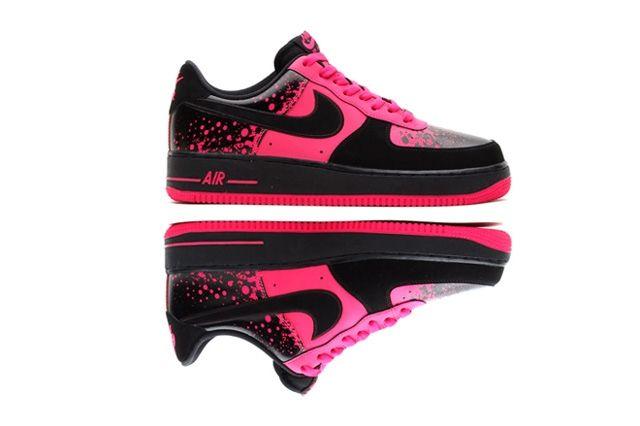 Nike Air Force 1 Low Pink Splatter 5