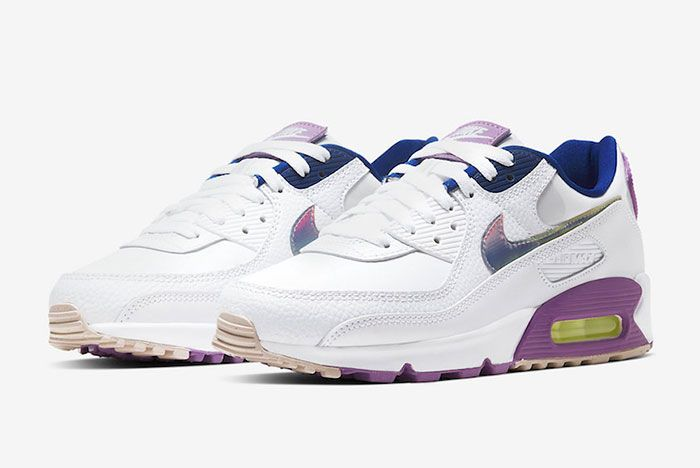 Nike Air Max 90 Easter Cj0623 100 Front Angle