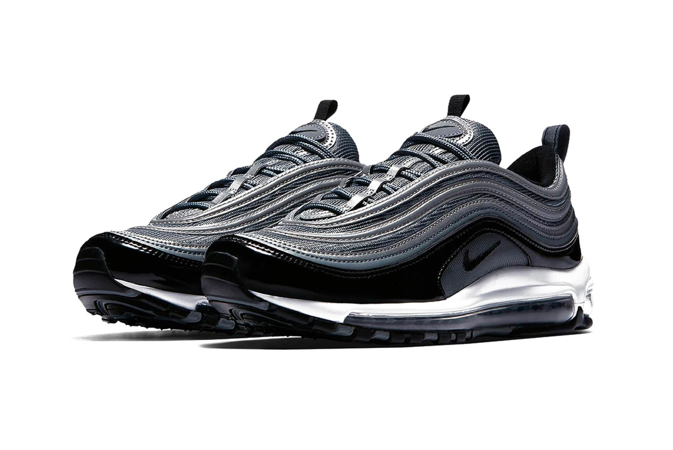 Nike Air Max 97 Black Patent Leather Release 002 Sneaker Freaker