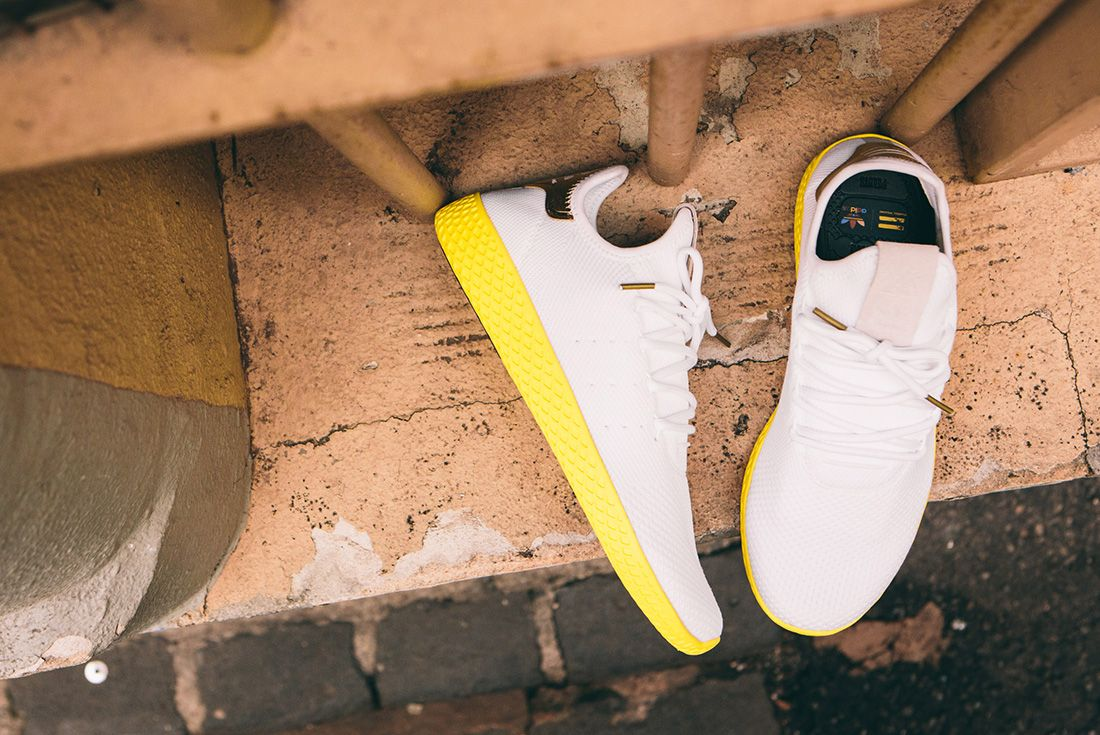 Pharrell Williams X Adidas Tennis Hu Gold7 1