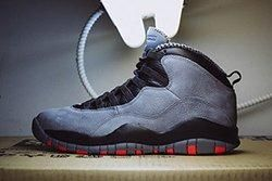 Air Jordan 10 Cool Grey Infrared Thumb