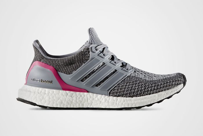 Adidas Ultra Boost Wmns Grey Shocking Pinkfeature