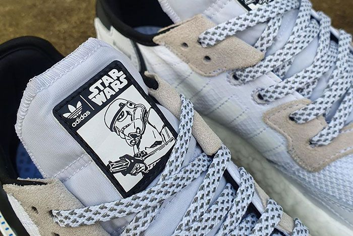 Star Wars Storm Trooper Adidas Nite Jogger Leaked Shots1 Tongue