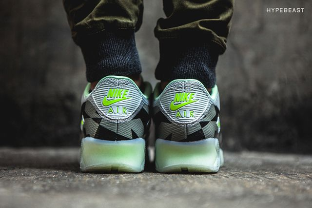 Nike Air Max 90 Knit Jacquard Ice Qs Grey Mist 2