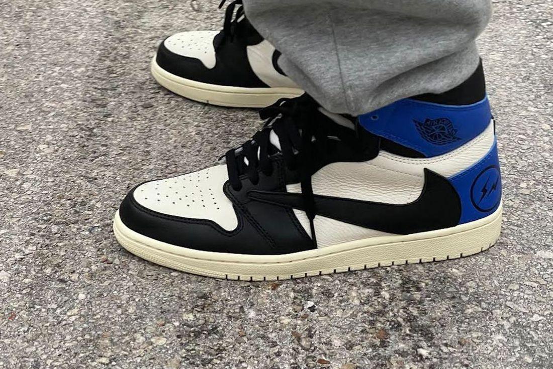 Travis Scott x Fragment x Air Jordan 1 Sample