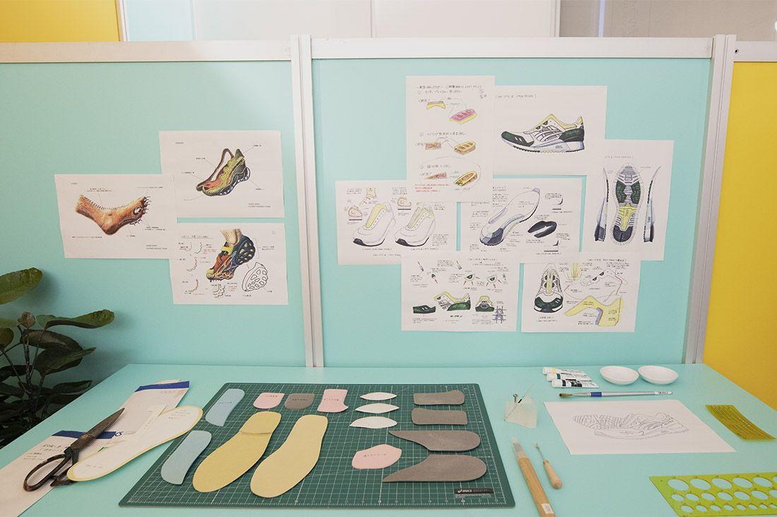 Asics Gel Lyte Iii Shigeyuki Mitsui Design Studio Recreation 9 Sketches