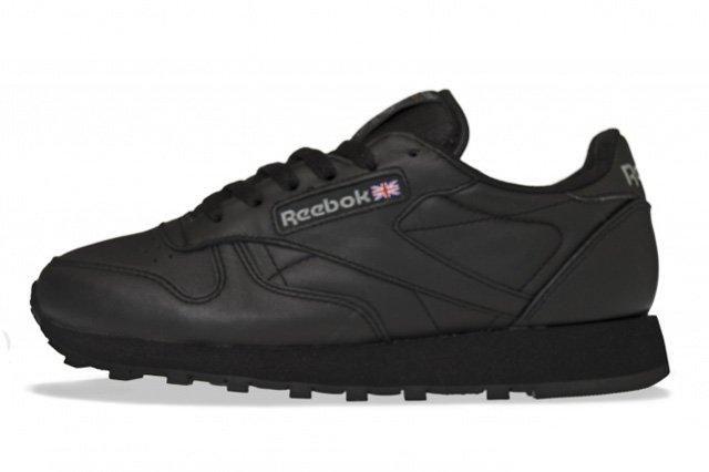 Reebok Classic Leather Triple Black Thumb
