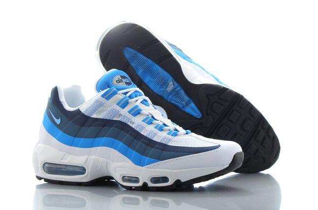 Nike Air Max 95 No Sew Uni Blue Photo Blue 2