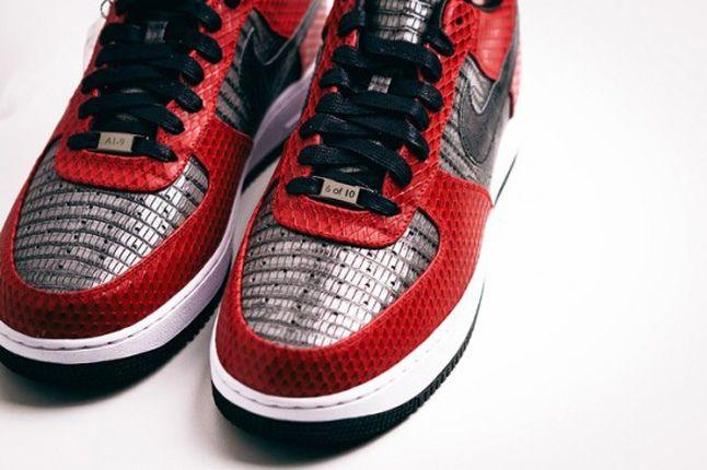 Andre Iquodala Marcus Troy Nike Af1 Bespoke Toe Detail