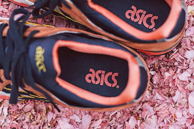 Ubiq X Asics Gel Lyte V Midnight Bloom 6