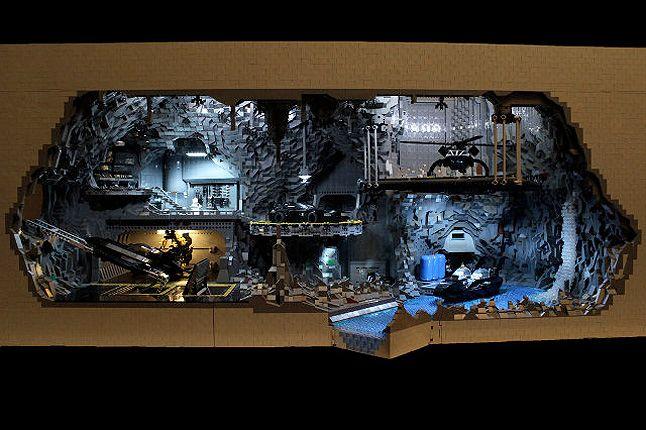 Lego Batcave 2 1