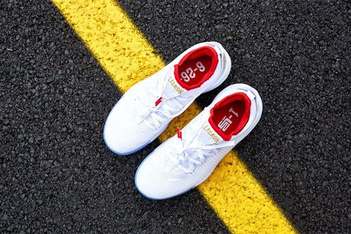 Nike Le Bron 16 Low Draft Night White Above