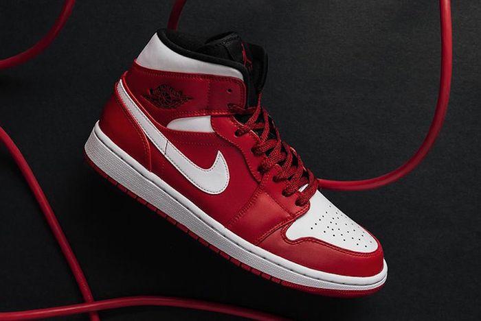Air Jordan 1 Mid Gym Red Us Release 1 Sneaker Freaker