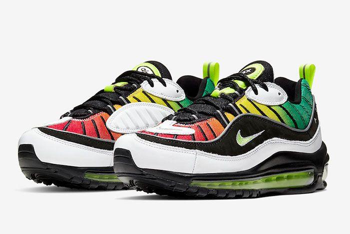 Olivia Kim Nike Air Max 98 Ck3309 001 Release Date 4 Pair