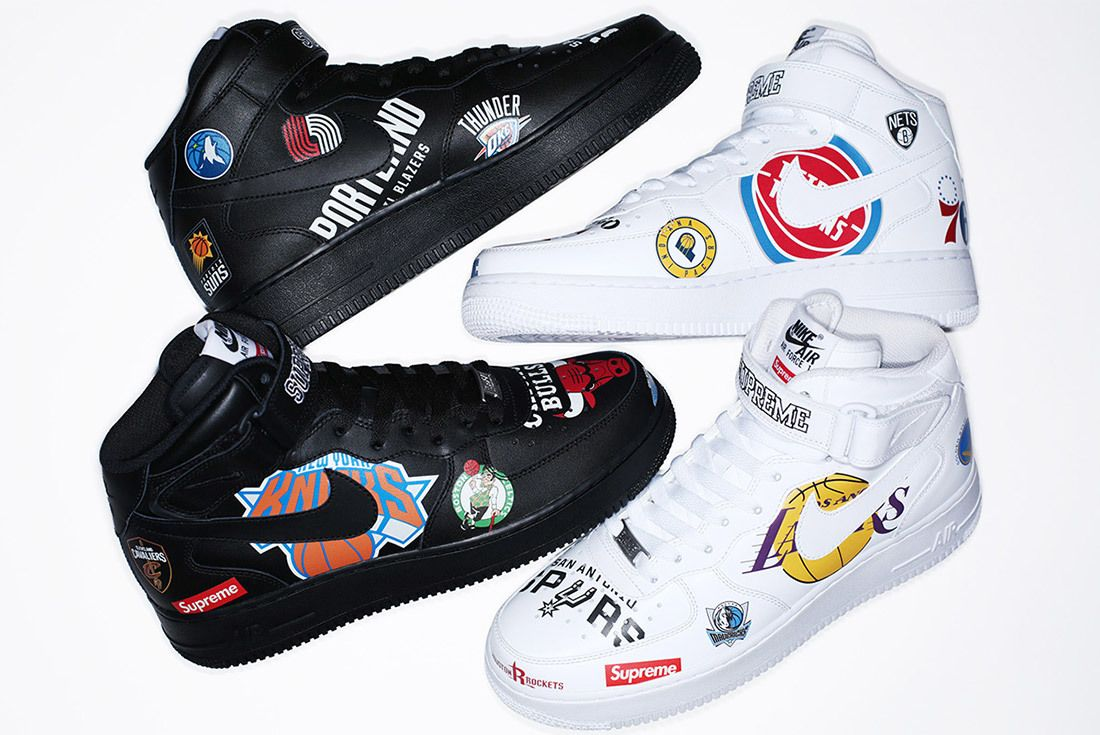 Supreme Nike Nba Air Force 1 High Sneaker Freaker 20