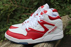 Reebok Pump Omni Lite White Red Thumb