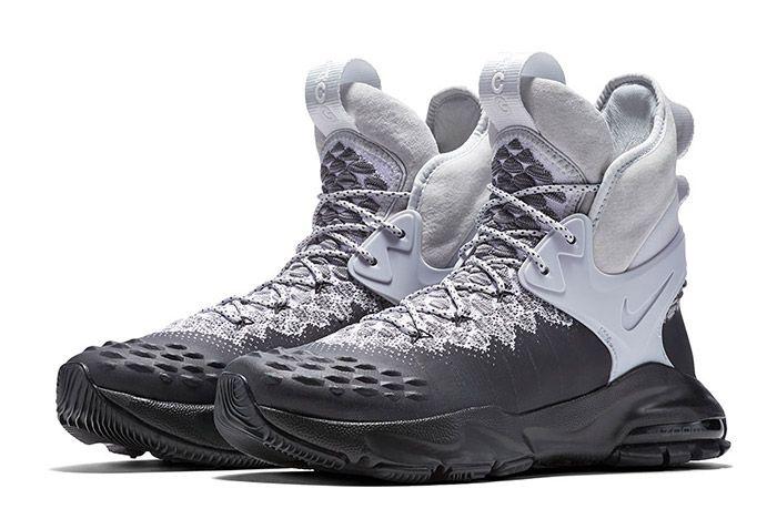 Nike Acg Zoom Tallac Flyknit White Grey 5