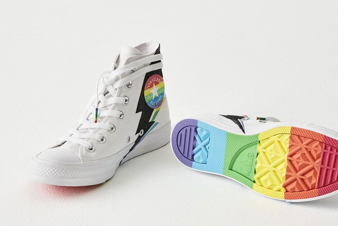 Converse Chuck 70 Pride Hi Pride Flag Tongue