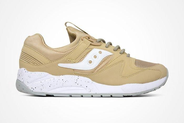 Saucony Grid 9000 Wheatwhite Feature