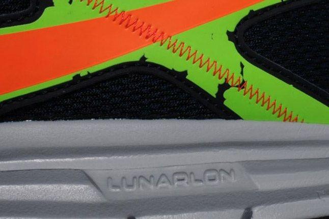 Nike Lunarfly 3 Trail Obsidian Orange Green Side 1
