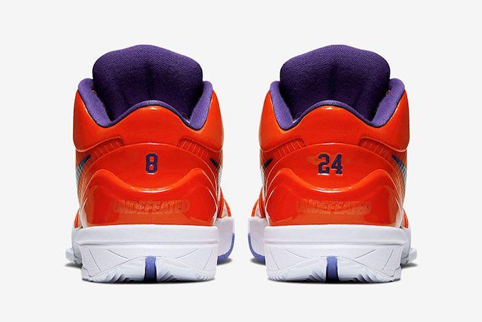 Undefeated Nike Kobe 4 Protro Suns Heel