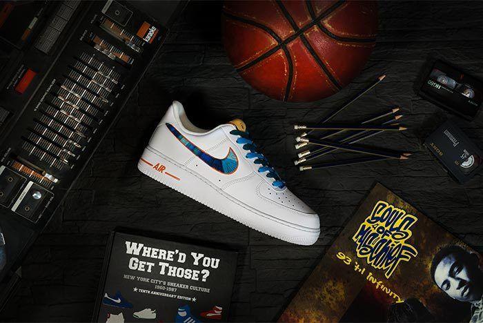 Afew Store X Bobbito Garcia Nike Air Force 1 Rock Rubber 45S 2