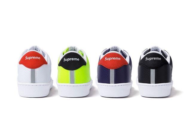 Supreme Nikesb Tennis Classic Group Heel Profile 1