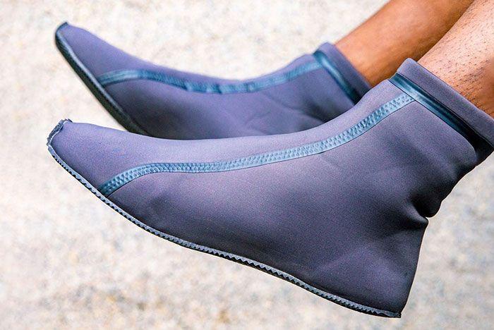 Yeezy Scuba Shoe Leak 1 On Foot