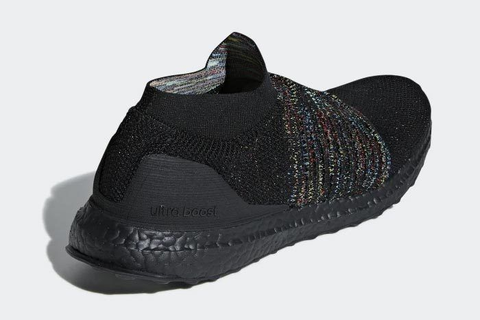 Adidas Ultraboost Laceless Black Multicolour 4