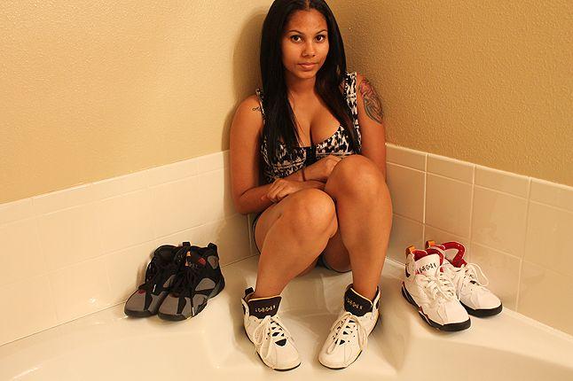 Ericka Female Air Jordan Collector 12 1