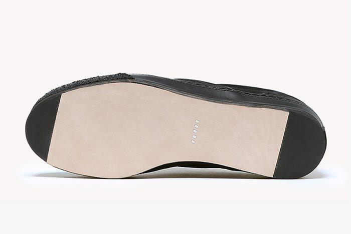 Hender Scheme Vans Slip On Black Sole Shot